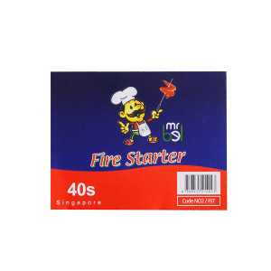 BBQ Accessories Fire Starters 40 pieces