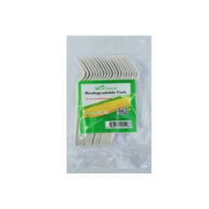 BIOGreen Biodegradable Disposable Forks 50 pieces