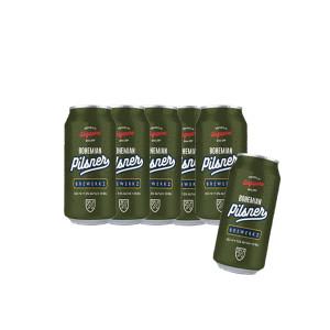 BREWERKZ Craft Beers Bohemain Pilsner 6 Cans