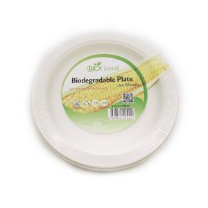 Biodegradable 9 Round Plates X 20 Pcs